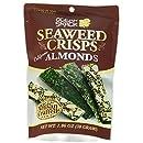 Ocean Snack Seaweed Crisps, Almonds, 1.06 Ounce (Pack of 12)