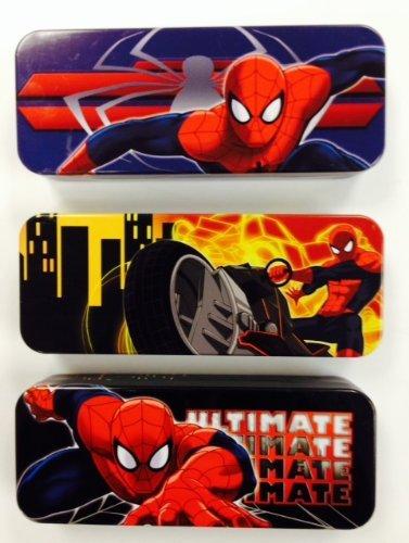 Spider-man Tin Pencil Case ( Random 1pc (Spider Man Pencil)