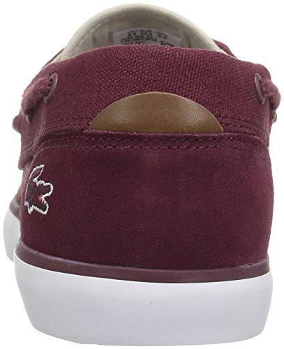Lacoste Mens Jouer Deck 317 1 Sneaker Bourgogne