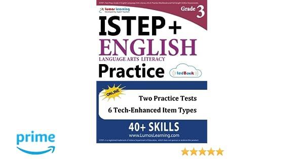 ISTEP Test Prep Grade 3 English Language Arts Literacy