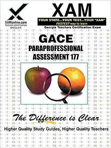 Amazon com: GACE Paraprofessional Assessment 177