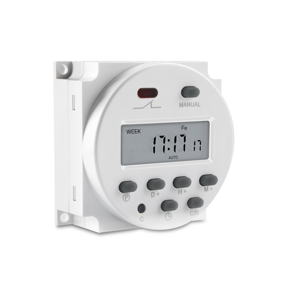 Enjoydeal Cn101 12v Dc Ac Digital Timer Lcd Programmable Time Relay Switch On For Electrical