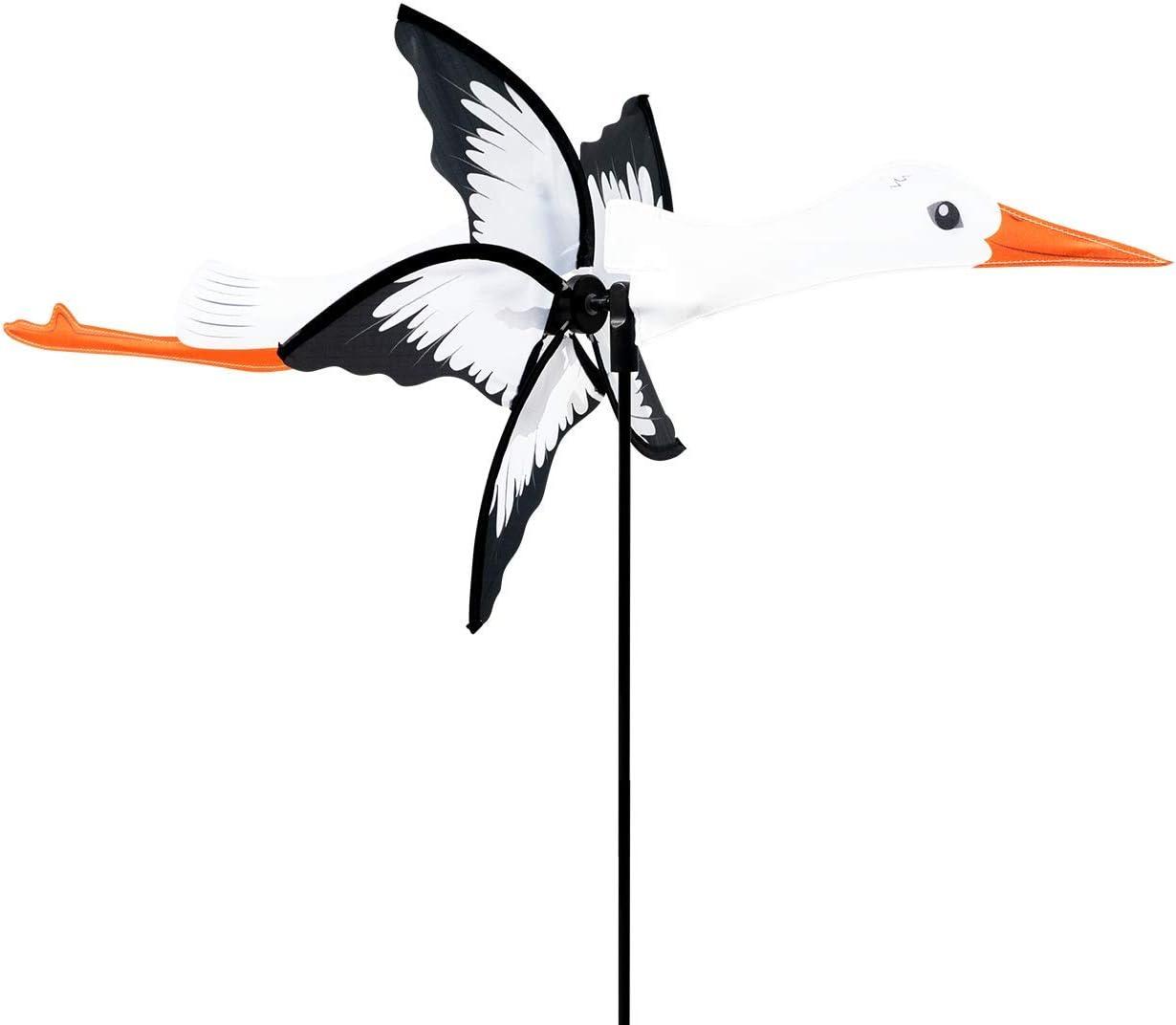 CIM Petite 2 in 1 Storch – Hélice Ø31cm, Longitud 41 cm, Altura Total 90 cm - Incluyendo Accesorios para Montar o Colgar
