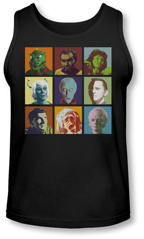 Star Trek - Mens Alien Squares Tank-Top
