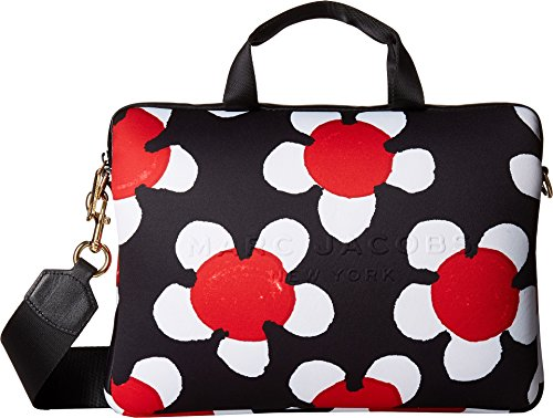 Marc Jacobs Women's Neoprene Printed Daisy Tech 13'' Commuter Case Red Multi One Size by Marc Jacobs