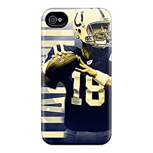 Excellent Cell-phone Hard Cover For Iphone 4/4s With Support Your Personal Customized Beautiful Indianapolis Colts Image AlainTanielian