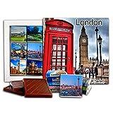 DA CHOCOLATE Candy Souvenir LONDON Capital of England Chocolate Gift Set 5x5in 1 box (Big Ben)