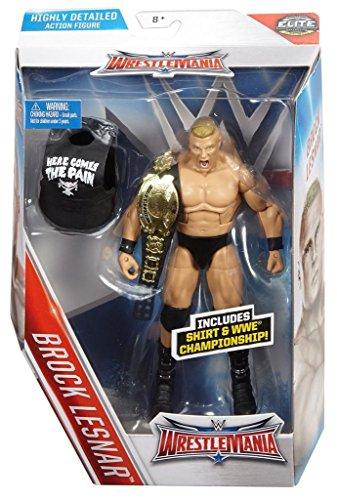 Brock Lesnar Elite Wrestlemania 32 Wwe Mattel Brand New Action Figure - In Stock