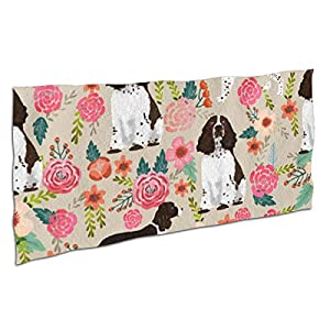 """NiYoung Beach Towels for Travel English Springer Spaniel Beach Towel Prints for Beach, Travel, Cruise, Outdoor, Thick Beach Towels, 28""""x56"""" 6"""