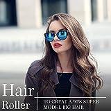 Jumbo Size Hair Roller sets, Self Grip, Salon Hair