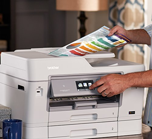 Brother Printer MFCJ6935DW Wireless Color Printer with Scanner, Copier & Fax, Amazon Dash Replenishment Enabled by Brother (Image #4)