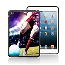 Football Kick Sport Nsp10 Case Cover Protection for Ipad 4 Black Silicone