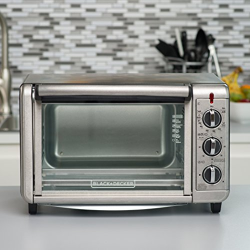 Black & Decker TO3230SBD Toaster Convection, Broil, Keep Warm