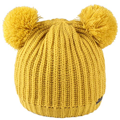 FURTALK Kids Winter Hat Pom Bean...