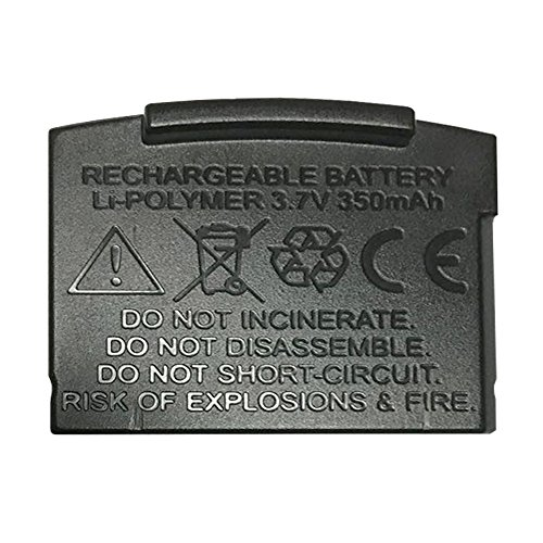 Battery Replacement 350mAh for Artiste APH100 or E1 (Black)