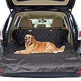 Zellar Car Boot Liner, Universal Waterproof 2-in-1 Boot Liner Rear Car Back Seat Protector Pet Dog Cat Cover Mat Fits Cars, Trucks, SUV