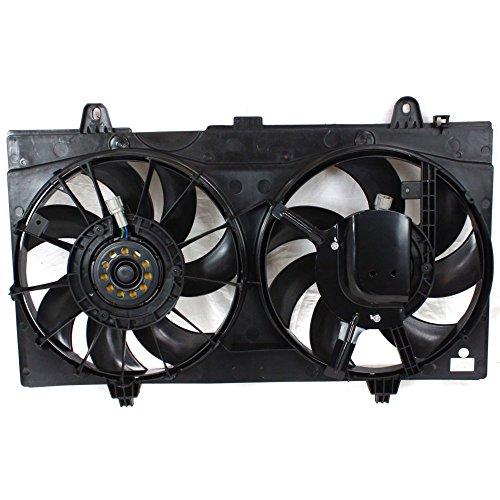 - Radiator Fan Assembly for Nissan Sentra 07-12 Dual Fan SR/SE-R/SE-R Spec V Models