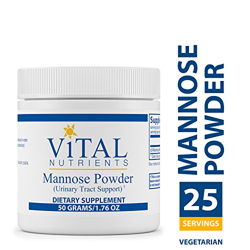 Vital Nutrients – Mannose Powder – Urinary Tract Support – Vegetarian – 50 Grams Review