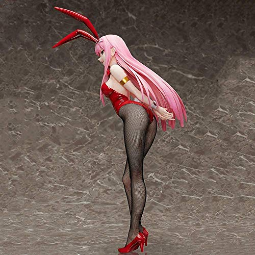 DARLING in the FRANXX Zero Two 02 Bunny Girl 1//4 Figure Statue PVC Toy 43cm New