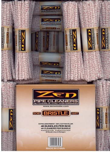 BOX ZEN Pipe Cleaners Hard Bristle 2112 Count