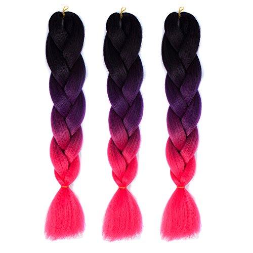 Alay& (Black To Purple Hair)