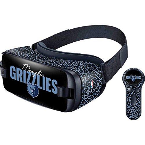 NBA Memphis Grizzlies Gear VR with Controller (2017) Skin - Memphis Grizzlies Elephant Print Vinyl Decal Skin For Your Gear VR with Controller (2017) ()