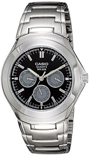 Casio Enticer Men Analog Black Dial Men #39;s Watch   MTP 1247D 1AVDF A389