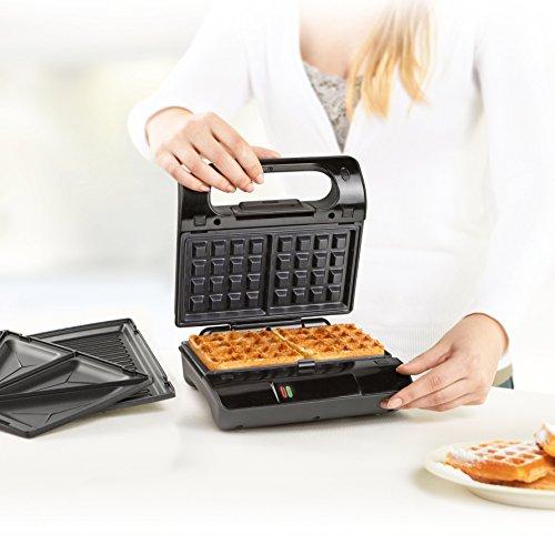 Princess Grill Compact Flex.Princess 117002 Compact Pro Multi Sandwich Grill Amazon Co