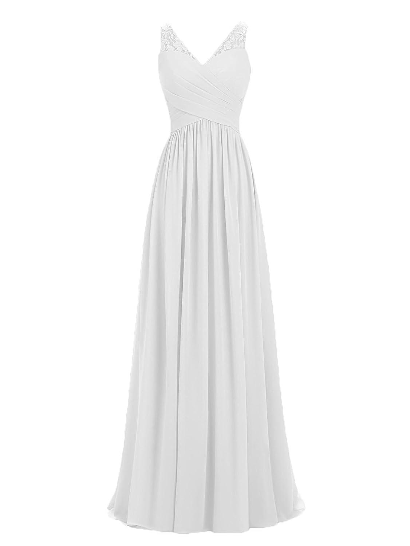 dcfaf823365 Carnivalprom Damen Chiffon Spitze Abendkleider Für Hochzeit Elegant  Brautkleid Ballkleider 85%OFF
