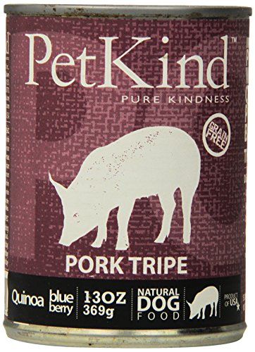PETKIND 328015 That's It Pork Tripe Supplement for Pets, 13-Ounce, Pack of 12