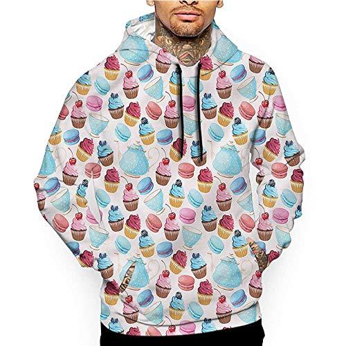 Hoodies SweatshirtMen 3D Print Kids,Nautical Pirates Funny Design,Sweatshirts for Women Hoodie Pullover