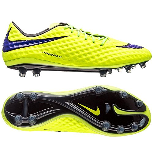 hot sale online 4ecda e2ac7 Nike Hypervenom Phantom FG Mens Football Boots 599843-759 Soccer Cleats  Firm Ground (US 9.5, Volt hot Lava Black) - Buy Online in Oman.