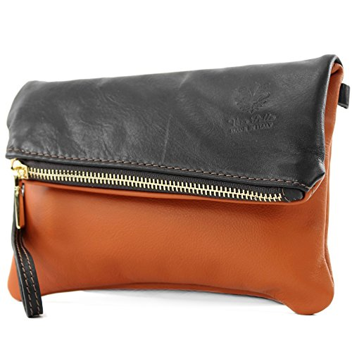 poignet d'embrayage d'épaule Sac Dunkelbraun de sac Camel modamoda sac dames T95 cuir en ital cuir de de petites en YPxOq7wAg