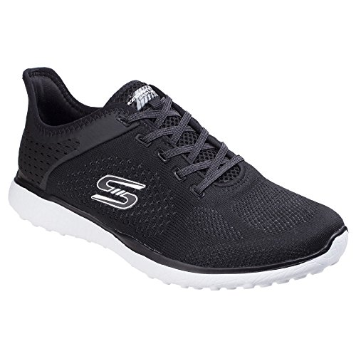Sports White Microburst Supersonic Black Womens Skechers Shoes 7wpFqaxt