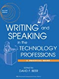Writing and Speaking in the Technology Professions 9780471444732