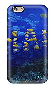 ARrdHNQ8789Xahca Tpu Phone Case With Fashionable Look For Iphone 6 - Fish