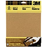 3M Garnet Sandpaper, Medium-Grit, 9-Inch by 11-Inch, 5-Sheet