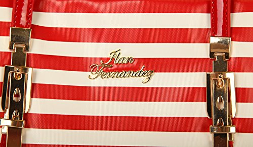 Ilan Fernandez, Borsa tote donna rosso rosso