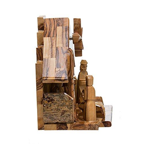Kurt Adler LOC0003 7.9'' Olive Wood Nativity Music Box by Kurt Adler (Image #3)