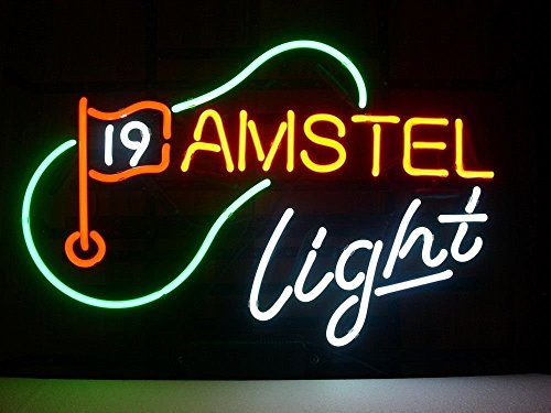 amstel-light-golf-bar-pub-sign-neon-sign-display-neon-glass-light-handicrafted-real-glass-tube19x15-