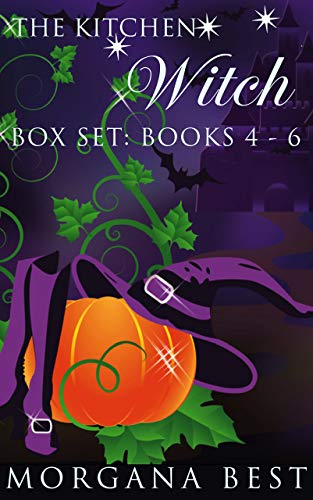 The Kitchen Witch: Box Set: Books 4-6: Witch Cozy Mystery Series (Iv Kitchen)