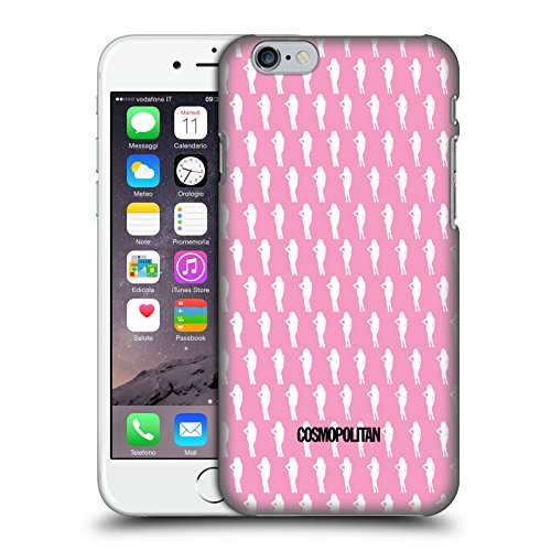 Official Cosmopolitan Pink Fun Fearless Female Hard Back Case for Apple iPhone 6 / 6s