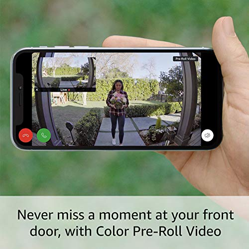 All-new Ring Video Doorbell 4 (2021 release) with Ring Chime Pro (2nd Gen)