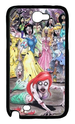 Price comparison product image Disney Princess Zombies Custom PC Transparent Case for Samsung Galaxy Note II N7100 by icasepersonalized