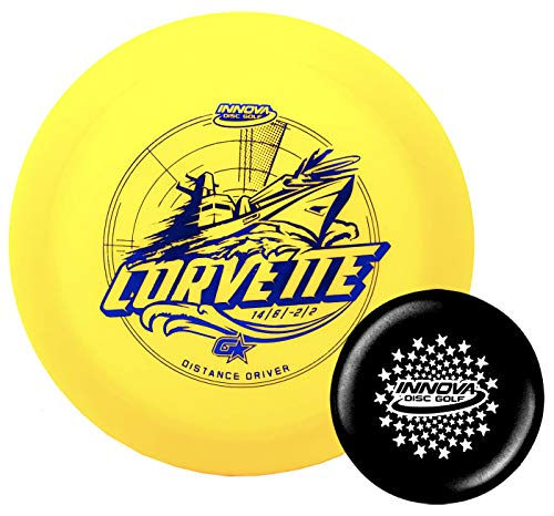 Innova Disc Golf GStar Corvette Distance Driver with Stars Stamp Innova Mini (Colors Will Vary) (173-175g)