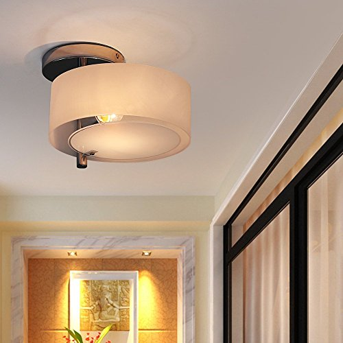 Kusun LED Ceiling Lights For Living Room Bedroom (1 X LED 5W E26 Bulb  Included) CL8199 1T LED