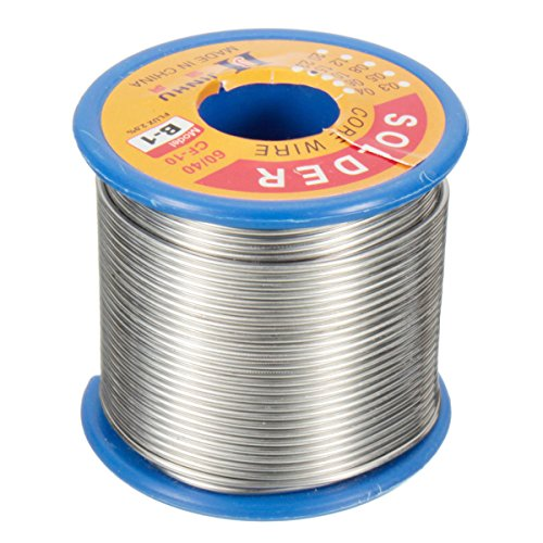 QOJA 500g 1.5mm flux 2.0% solder wire lead 60/40 hq flux multicolored by QOJA