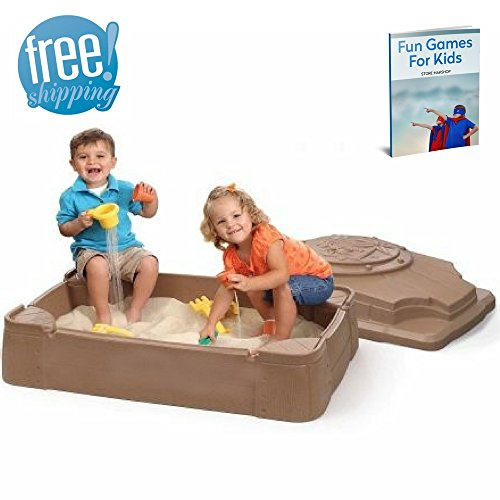Sandpits For Kids Play Beach Toy Games Outward Naturally Playfort Activity Outdoor Garden Children's Playful Child Backyard Sandbox Cover For Toddlers Kidkraft Outside Sand And eBook By NAKSHOP by NAKSHOP