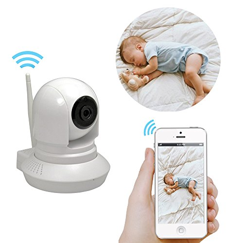 Wireless Security IP Camera WiFi Security Surveillance System remote viewing Smart Home Monitoring CCTV Surveillance System 720p HD Night Vision