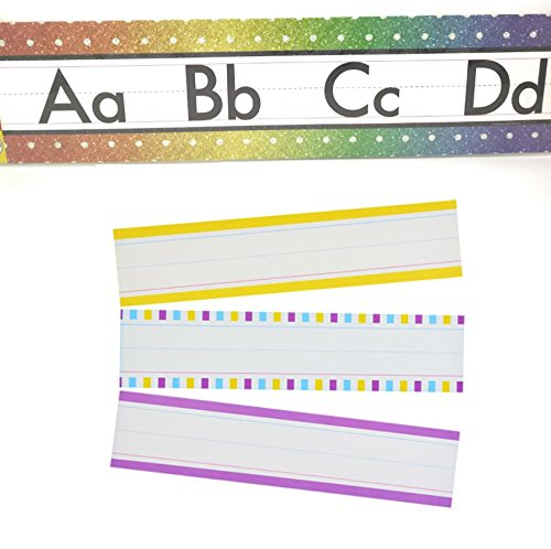 Twilight Patio Chair (Teaching Tree Manuscript Alphabet Bulletin Back to School Board Set Creative Strips School Office Scholastic Teacher Bulletin Trim Wall Border Decal Classroom Decoration Rainbow Strips)